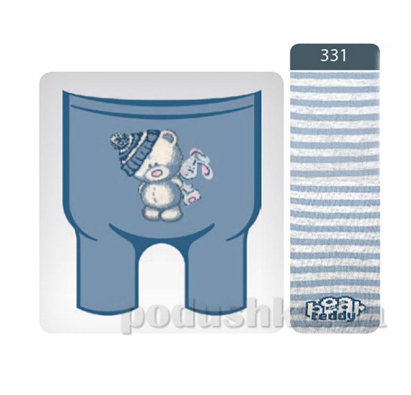 Колготки детские из хлопка Tip-Top Conte 4С-01СП 331 светлый джинс