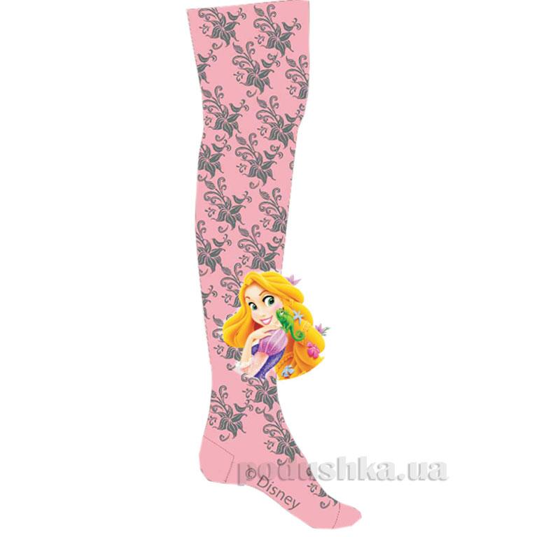 Колготки детские Кребо ажурные Принцесса 2037-10 розовые