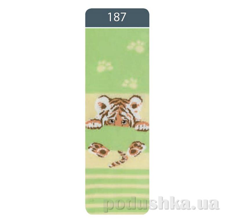 Колготки детские махровые Sof-tiki Conte 7С - 38 СП 187 светло-зеленые