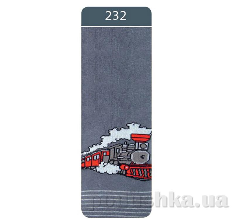 Колготки детские махровые Sof-tiki Conte 7С - 38 СП 232 графит