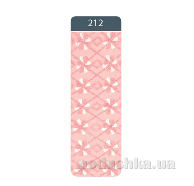 Колготки детские жаккардовые Bravo Conte 7C-44CП 212 розовые