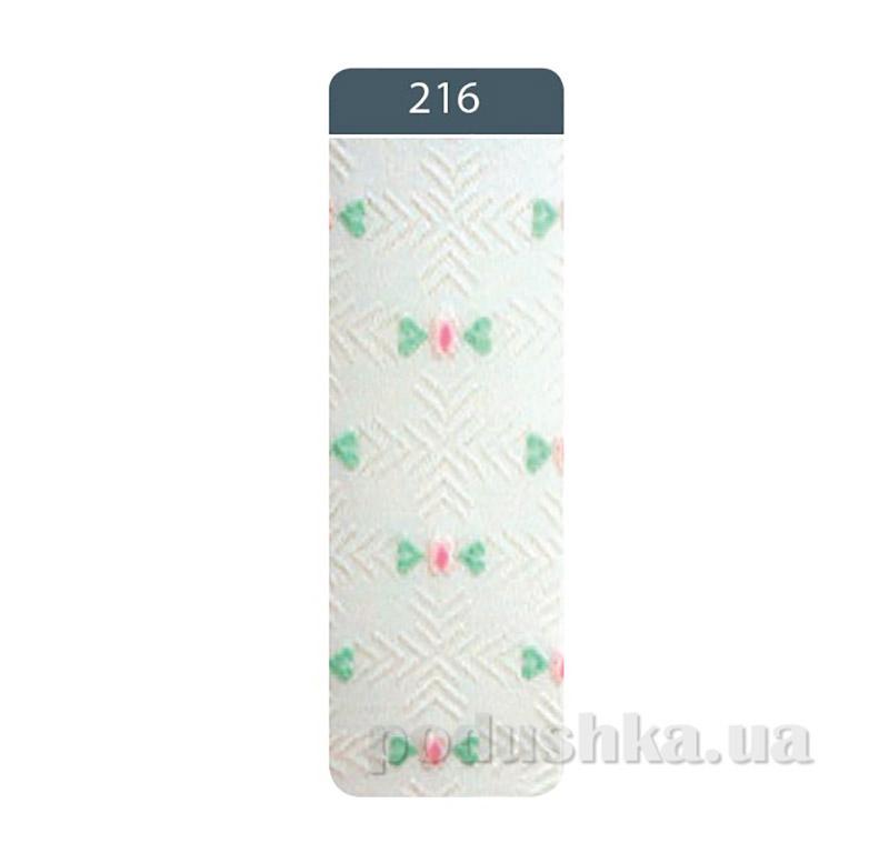 Колготки детские жаккардовые Bravo Conte 7C-44CП 216 белые