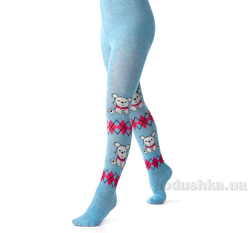 Колготки для девочек Arina by Charmante AKR 010833 голубой меланж