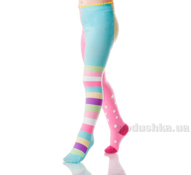 Колготки для девочек Arina by Charmante ARB 051205 светло-розовый и голубой