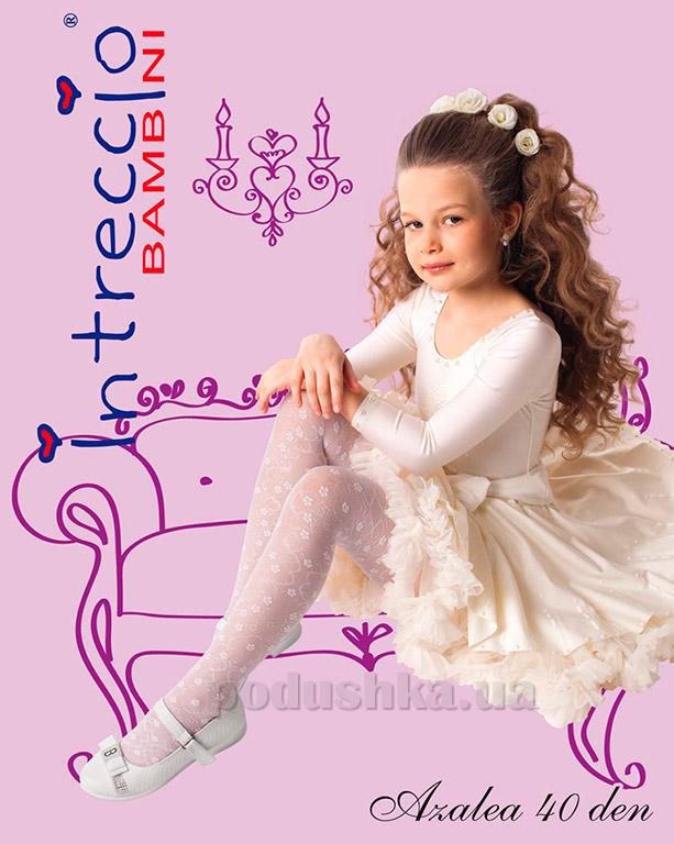 Колготки для девочек Arina by Charmante Azalea 40 bianco