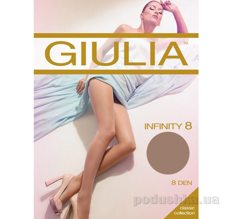 Колготки коричневые с охлаждающим эффектом 8 Den Infinity Giulia Glace