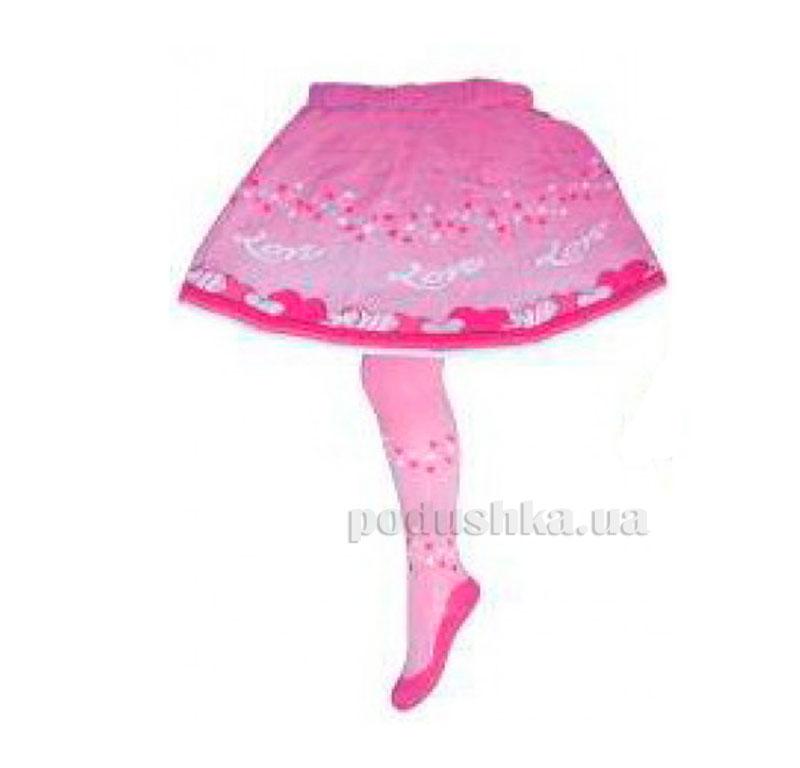 Колготки с юбкой для девочки Кребо RASP-01