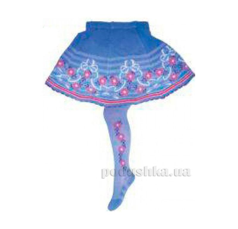 Колготки с юбкой для девочки Кребо RASP-03