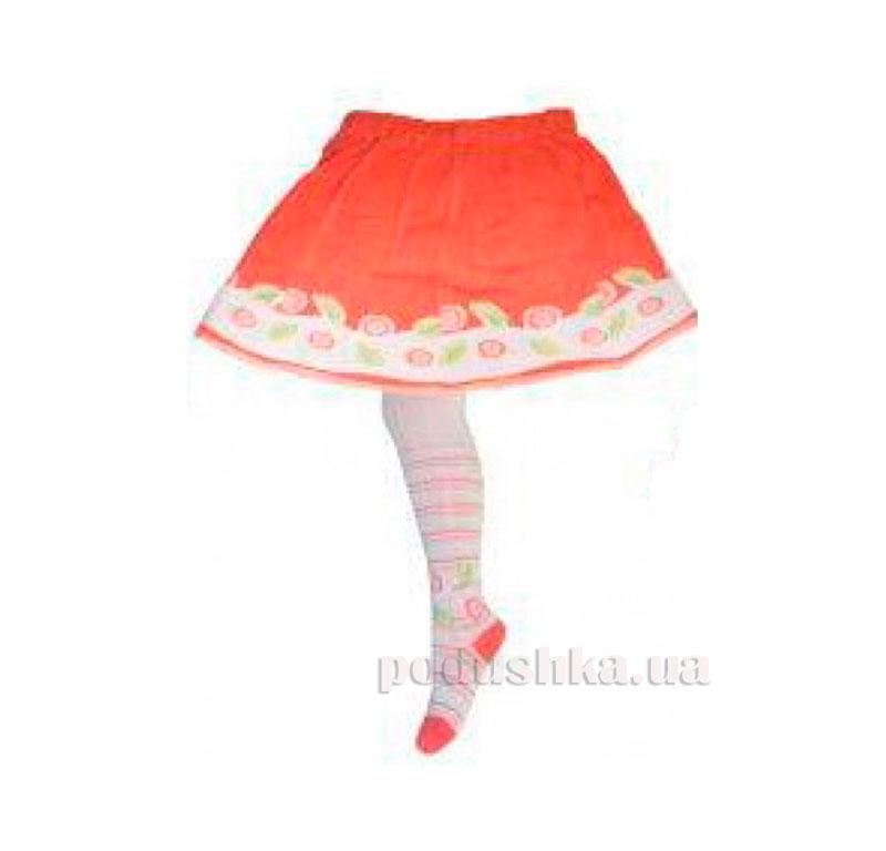 Колготки с юбкой для девочки Кребо RASP-07