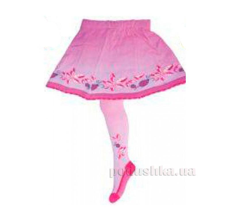 Колготки с юбкой для девочки Кребо RASP-08