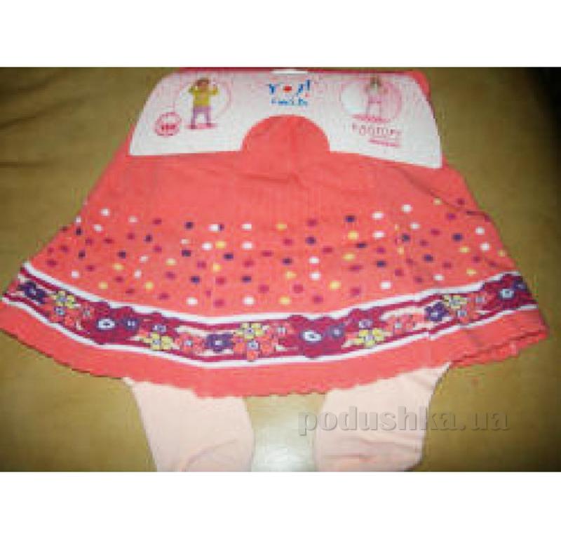 Колготки с юбкой для девочки Кребо RASP-02