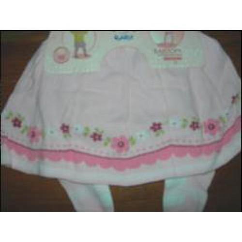 Колготки с юбкой для девочки Кребо RASP-04