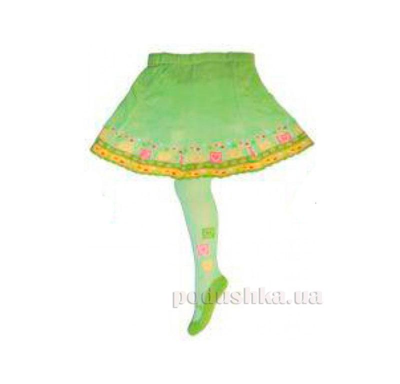 Колготки с юбкой для девочки Кребо RASP-06