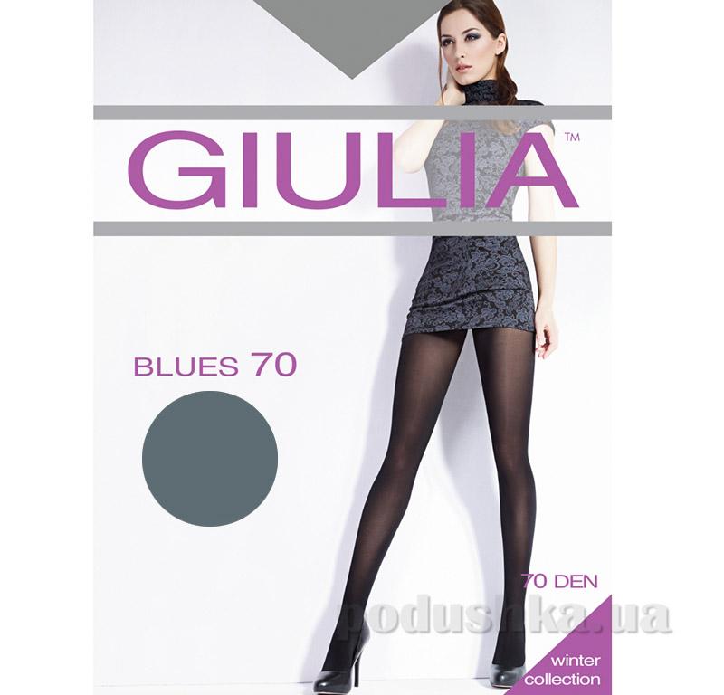 Колготки серые 70 Den Blues 3D Giulia Fumo