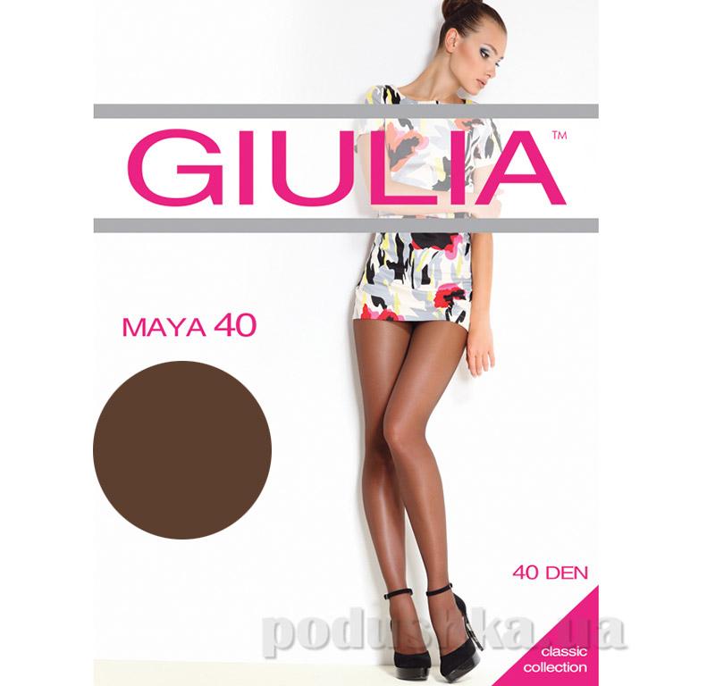 Колготки темно-коричневые 40 Den Maya Giulia Сappuccino