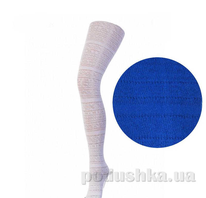Колготки темно-синие ажурные 150 den Giulia Meggy Dark bleu