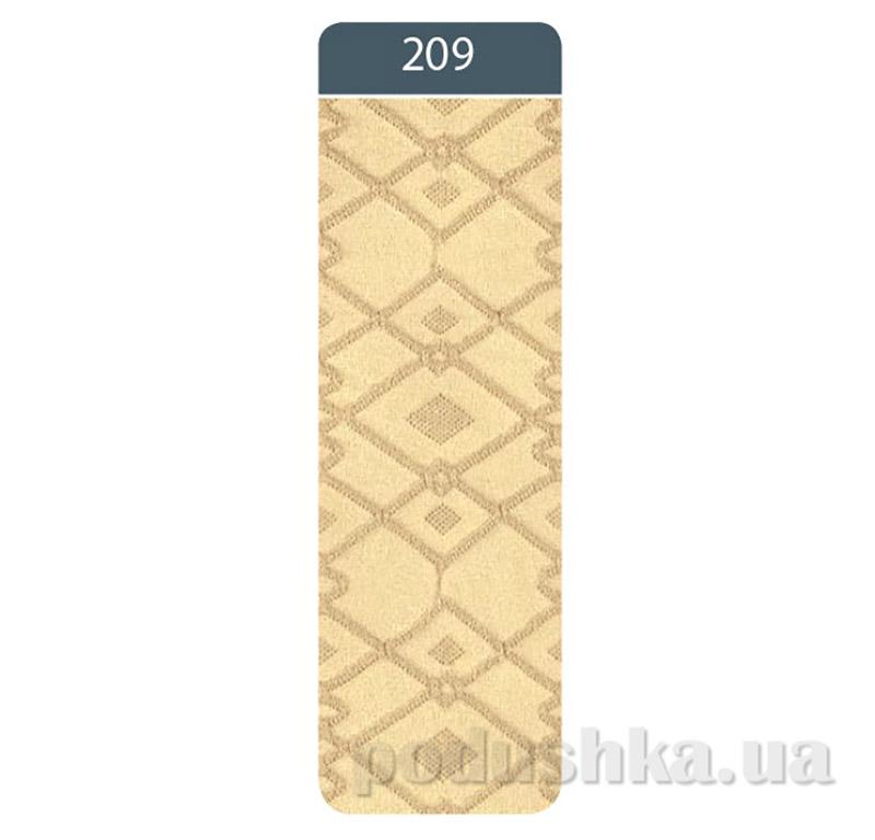 Колготки жаккардовые для девочки Bravo Conte 7C-44CП 209 кремовые