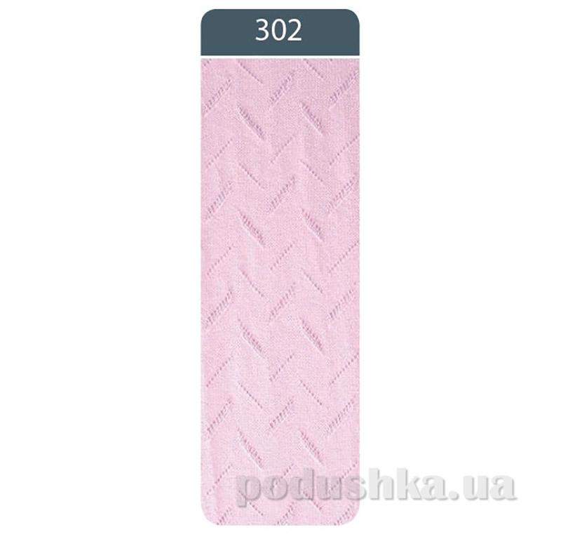 Колготки жаккардовые для девочки Bravo Conte 7C-44CП 302 светло-розовые