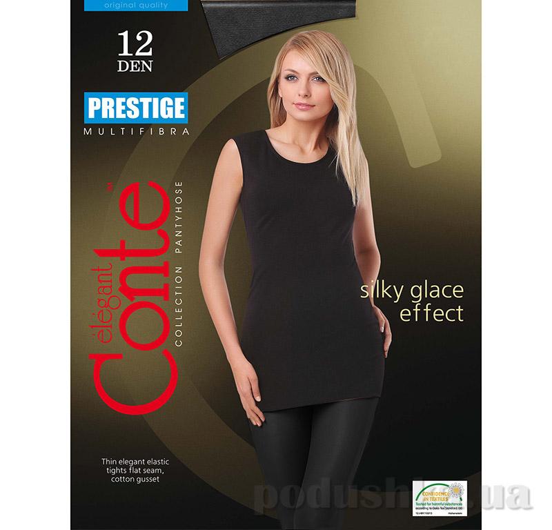Колготки черные 12 Den женские Prestige Conte 8С-59СП Nero