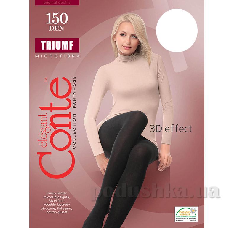 Колготы белые плотные для женщин Triumf 150 Den Conte 8С-57СП Bianco