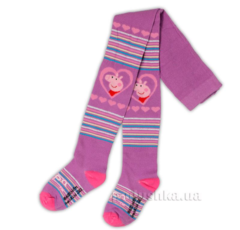 Колготы для девочек Пеппа E-Pulse фиолетовые