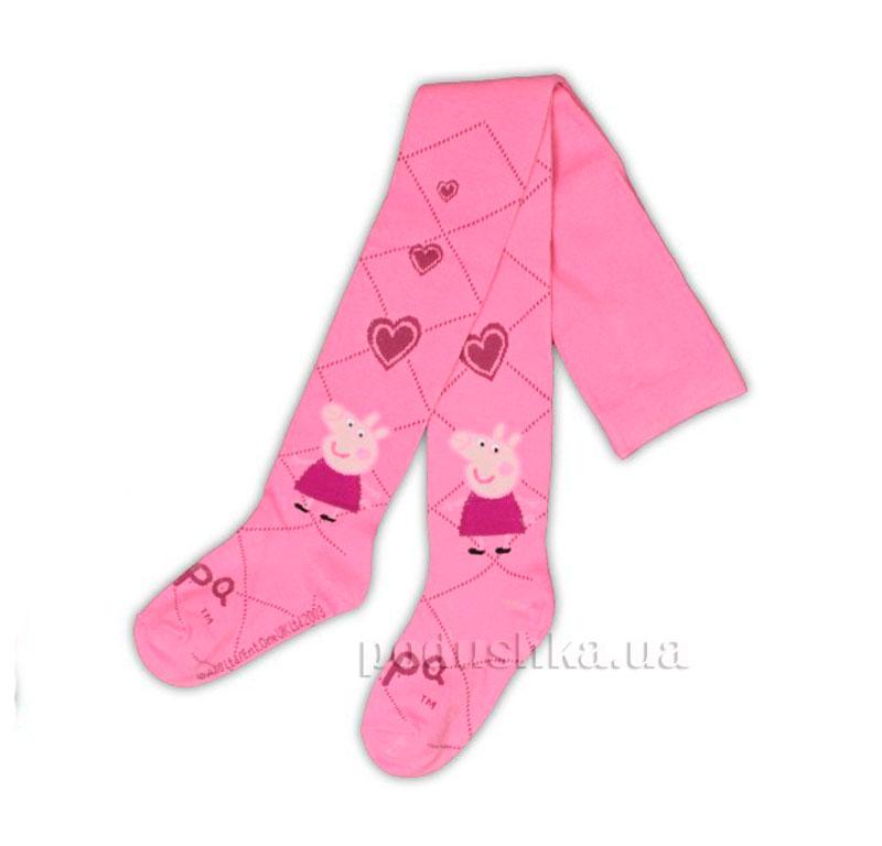 Колготы для девочек Пеппа E-Pulse розовые