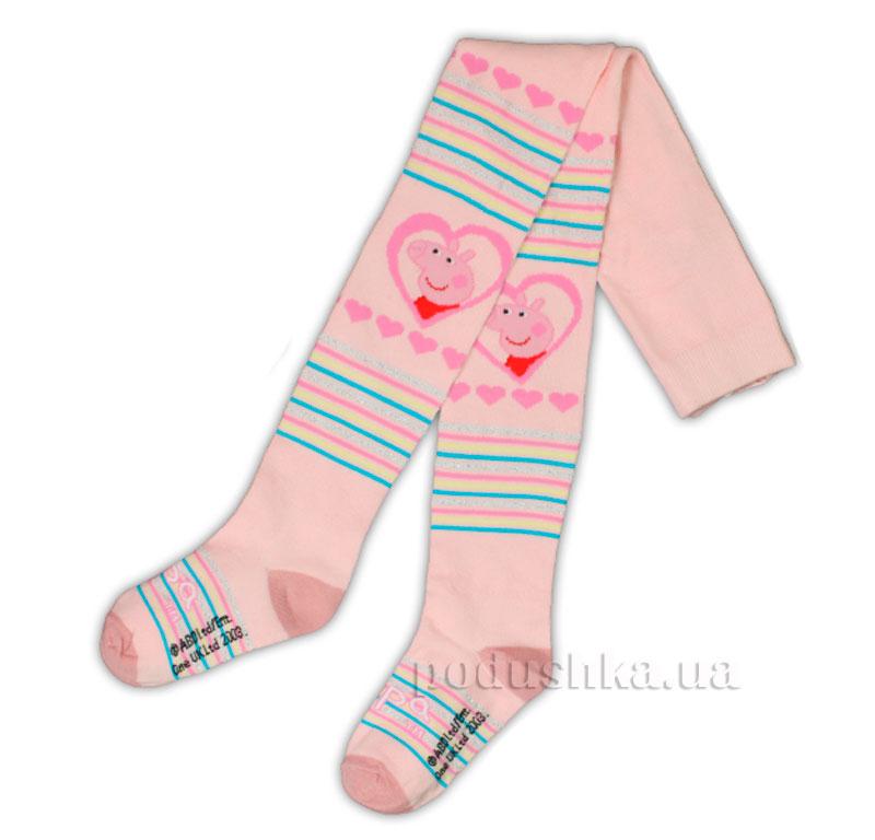 Колготы для девочек Пеппа E-Pulse светло-розовые