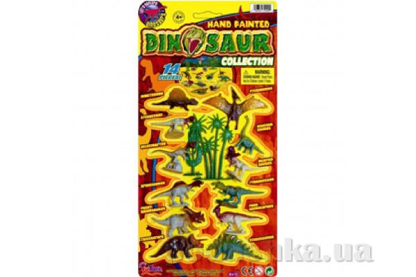 Коллекция динозавров FunTastic 3104
