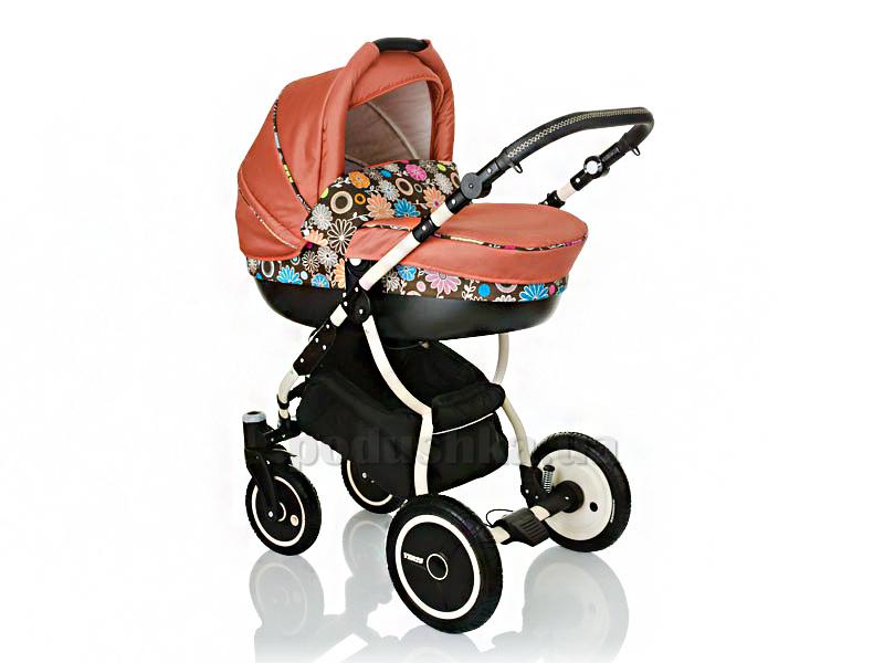 Коляска для новорожденных Lonex Speedy V Light L-10