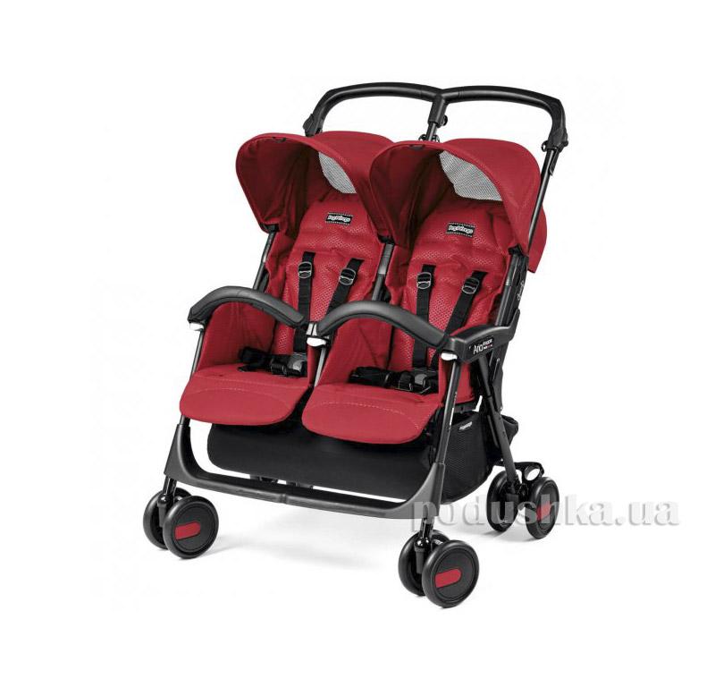 Коляска Peg Perego Aria Shopper Twin Classico Mod Red