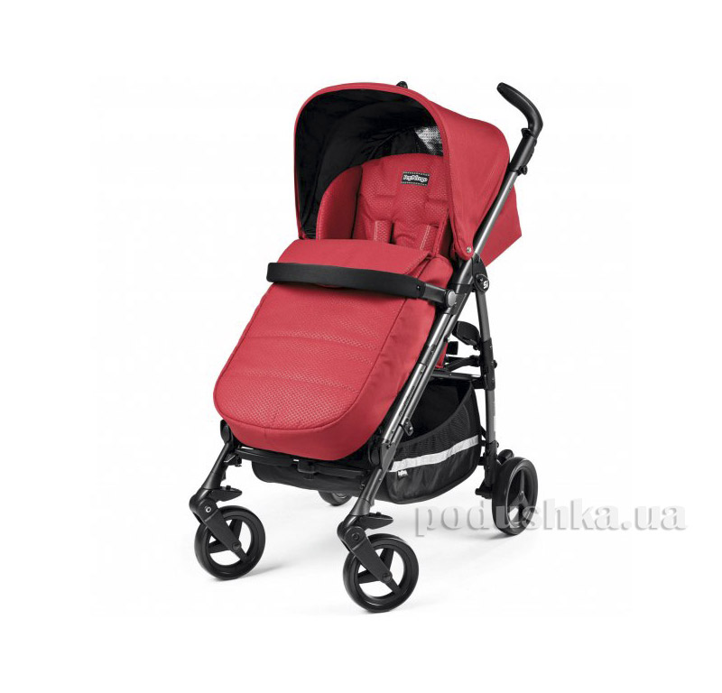 Коляска Peg-Perego Si Completo Mod Red
