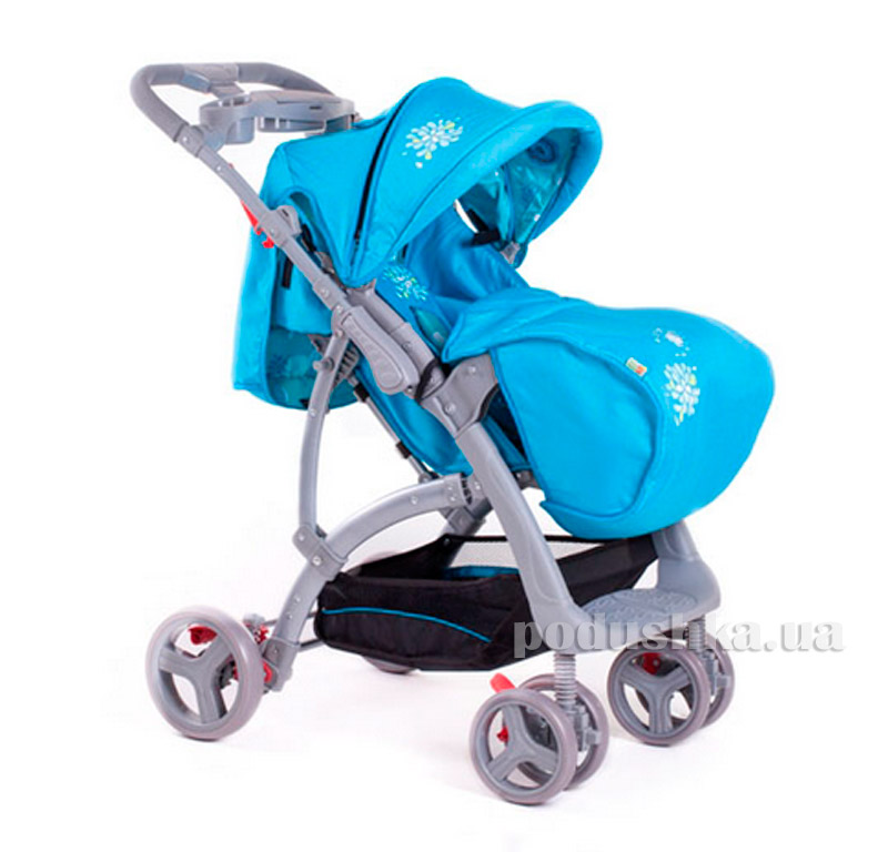 Коляска прогулочная Light Blue Babyhit Flora 8731