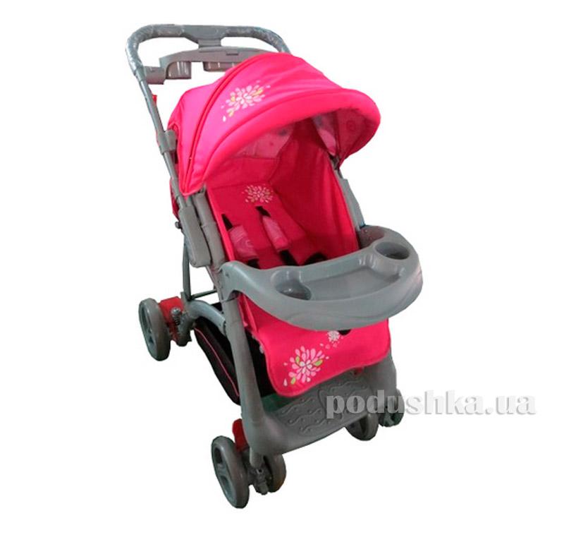 Коляска прогулочная Pink Babyhit Flora 8732