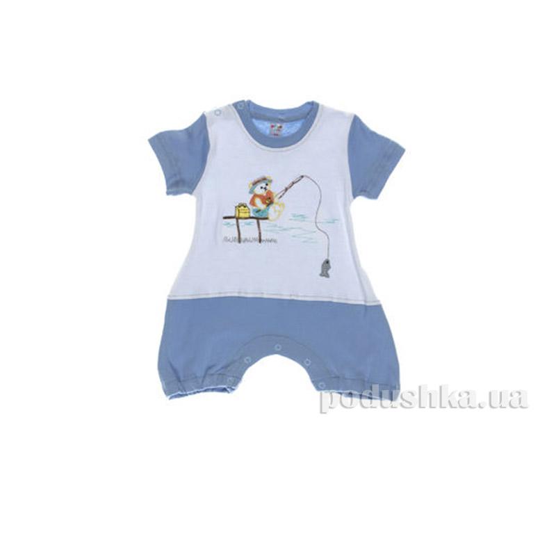 Комбинезон детский Niso Baby 1028 голубой