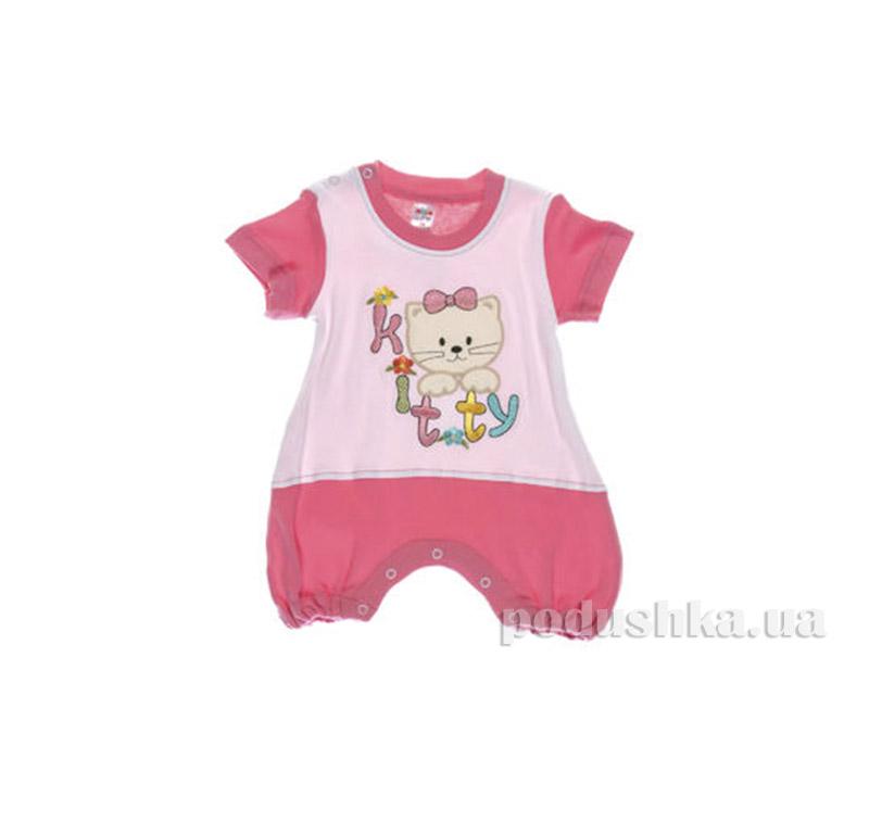 Комбинезон детский Niso Baby 1028 розовый