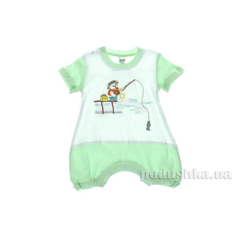 Комбинезон детский Niso Baby 1028 зеленый