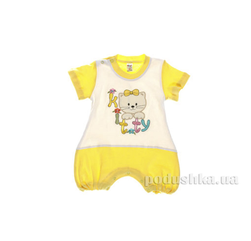 Комбинезон детский Niso Baby 1028 желтый