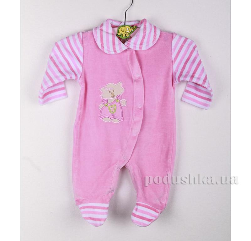 Комбинезон детский Niso Baby 4012 розовый