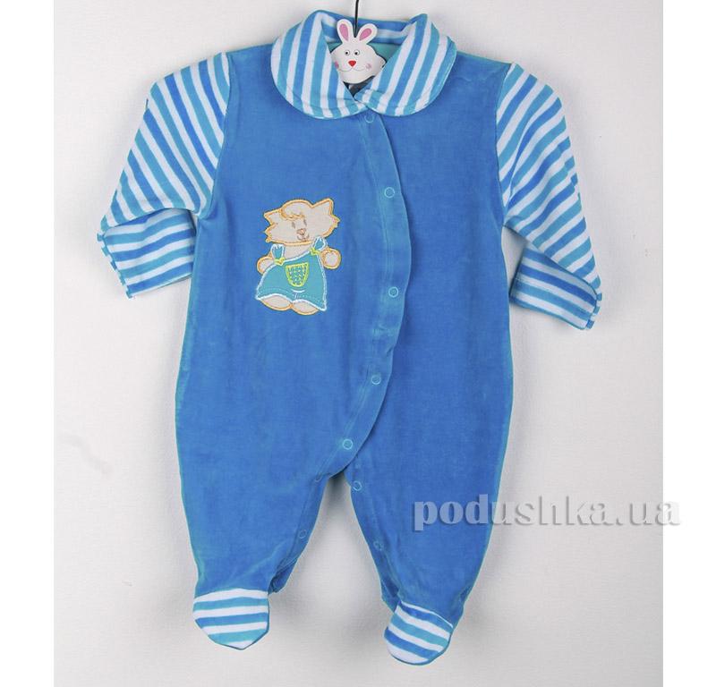 Комбинезон детский Niso Baby 4012 синий