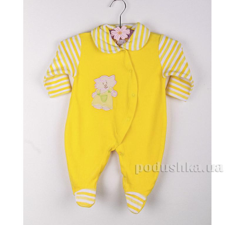 Комбинезон детский Niso Baby 4012 желтый