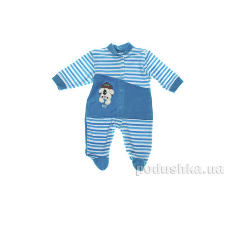Комбинезон детский Niso Baby 4014 синий