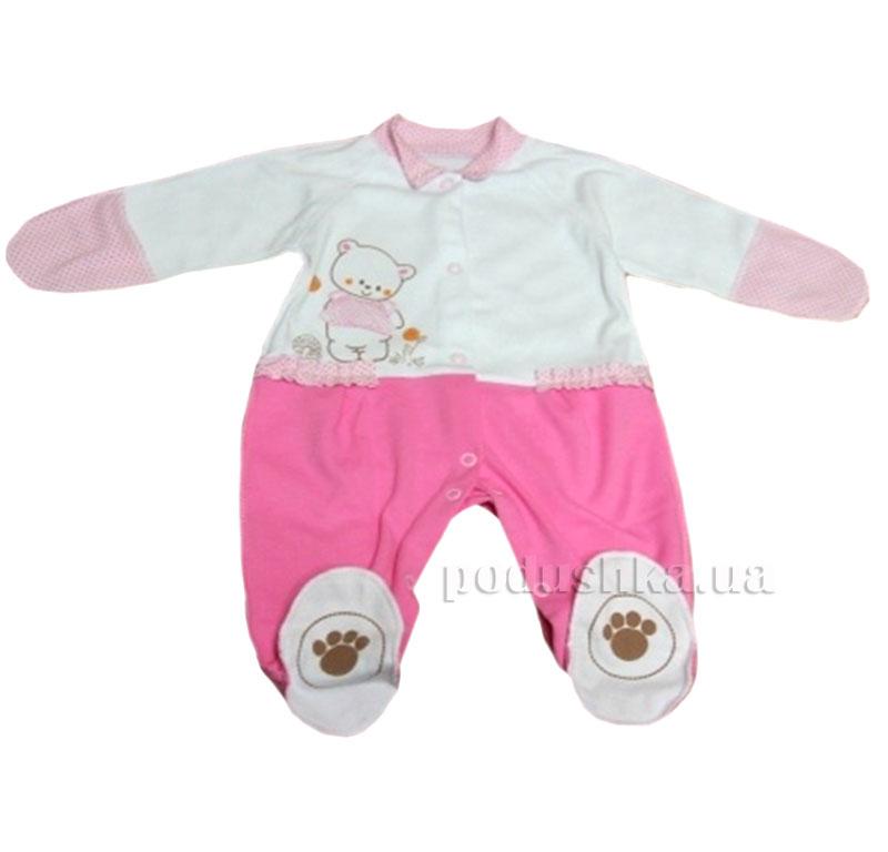 Комбинезон для девочки Baby Life 9-025н интерлок