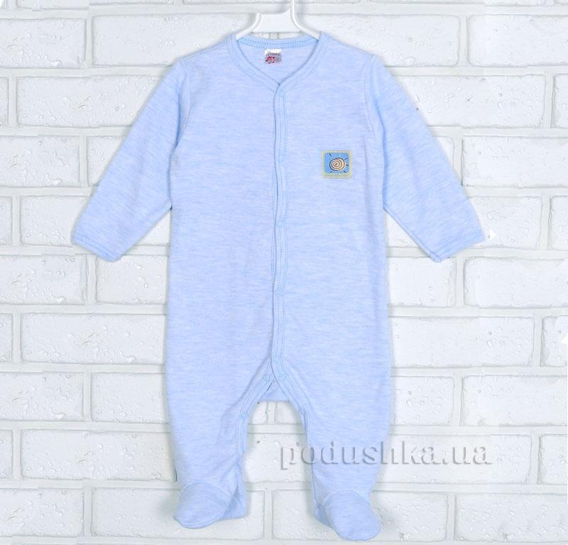 Комбинезон для малыша 15606 Татошка голубой меланж