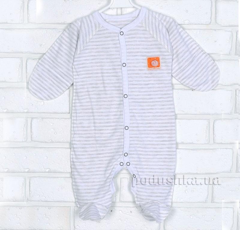 Комбинезон для малыша 15653 Татошка бежевый в полоску