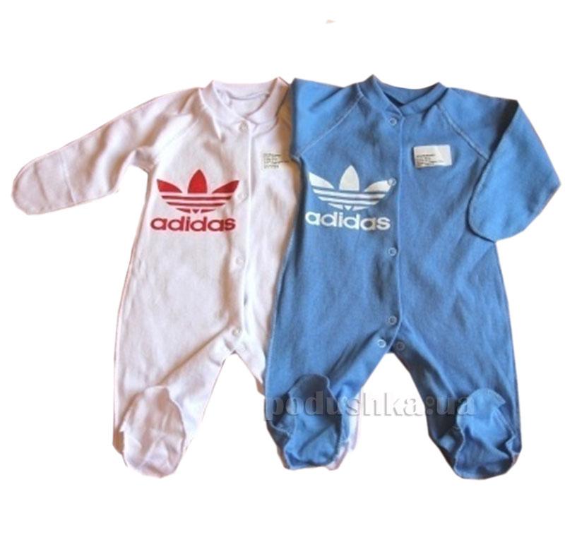Комбинезон для малыша Adidas Baby Life 50-8 интерлок