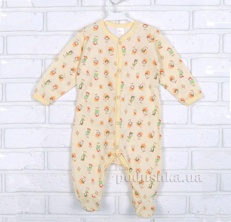 Комбинезон для малыша Татошка 15606 желтый Ферма