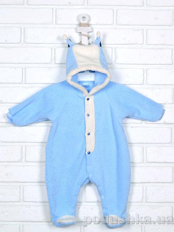 Человечек-комбинезон для новорожденных Татошка 151018 голубой