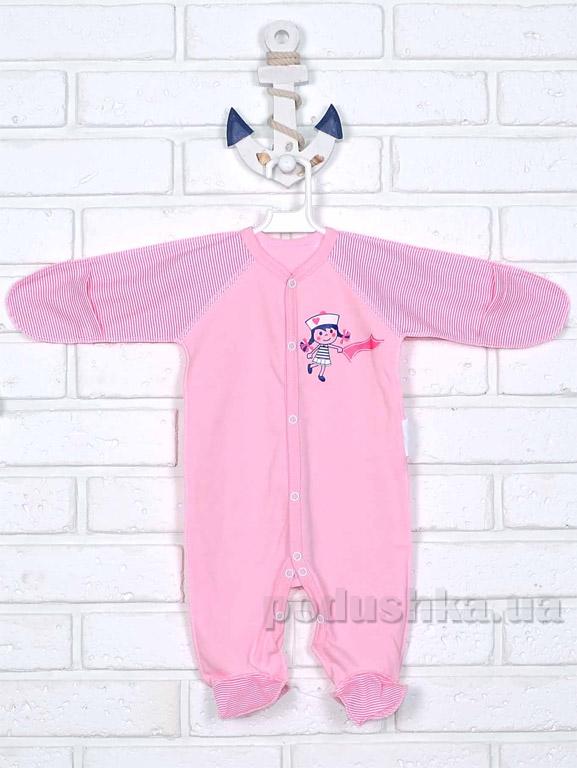 Человечек-комбинезон Татошка 15553 розовый