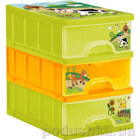 Комод для игрушек с выдвижными ящиками Prima Baby Funny Farm