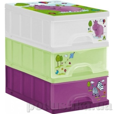 Комод для игрушек с выдвижными ящиками Prima Baby Hippo